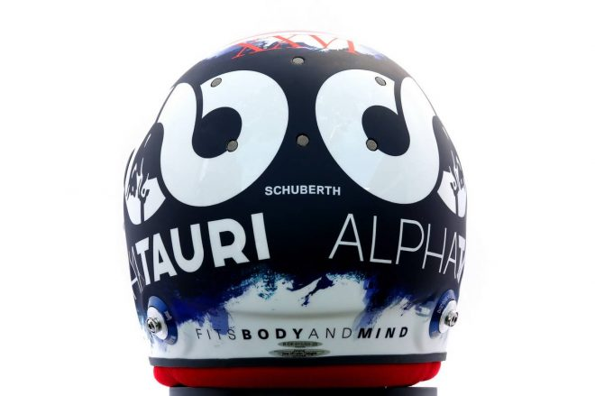 F1 | ダニール・クビアト(Daniil Kvyat) 2020年のヘルメット3