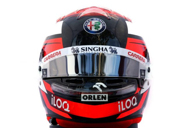 F1 | キミ・ライコネン(Kimi Raikkonen) 2020年のヘルメット1