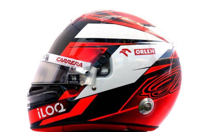 F1 | キミ・ライコネン(Kimi Raikkonen) 2020年のヘルメット2