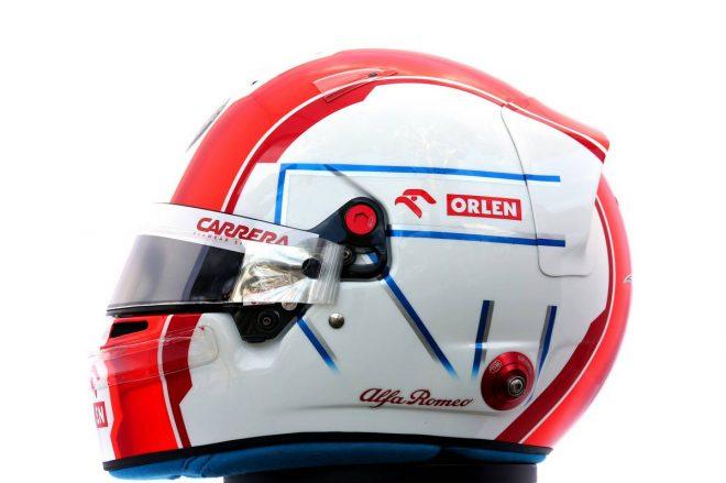 F1 | アントニオ・ジョビナッツィ(Antonio Giovinazzi) 2020年のヘルメット2