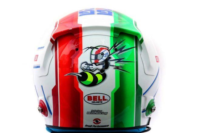 F1 | アントニオ・ジョビナッツィ(Antonio Giovinazzi) 2020年のヘルメット3