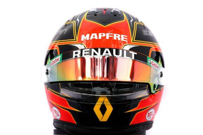 F1 | エステバン・オコン(Esteban Ocon) 2020年のヘルメット1