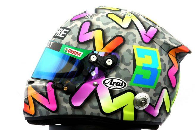 F1 | ダニエル・リカルド(Daniel Ricciardo) 2020年のヘルメット2