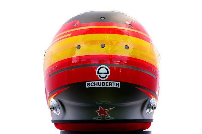 F1 | カルロス・サインツJr.(Carlos Sainz Jr.) 2020年のヘルメット3