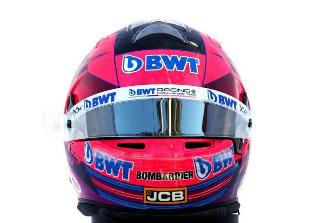 F1   セルジオ・ペレス(Sergio Perez) 2020年のヘルメット1