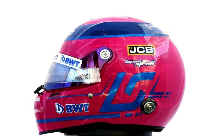 F1 | ランス・ストロール(Lance Stroll) 2020年のヘルメット2