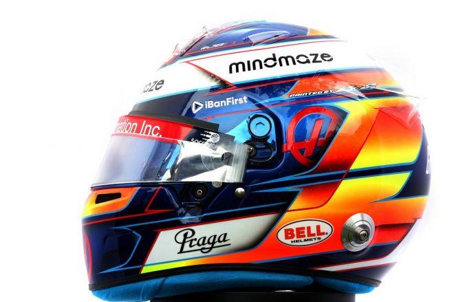F1 | ロマン・グロージャン(Romain Grosjean) 2020年のヘルメット2