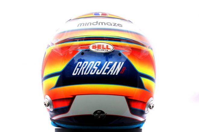 F1 | ロマン・グロージャン(Romain Grosjean) 2020年のヘルメット3