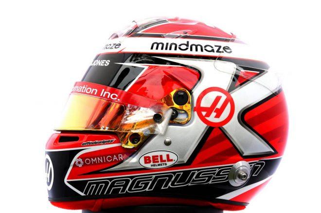 F1 | ケビン・マグヌッセン(Kevin Magnussen) 2020年のヘルメット2