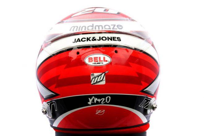 F1 | ケビン・マグヌッセン(Kevin Magnussen) 2020年のヘルメット3