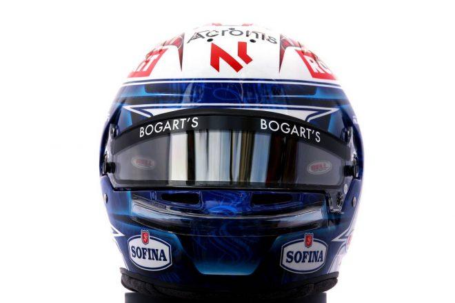 F1 | ニコラス・ラティフィ(Nicholas Latifi) 2020年のヘルメット1