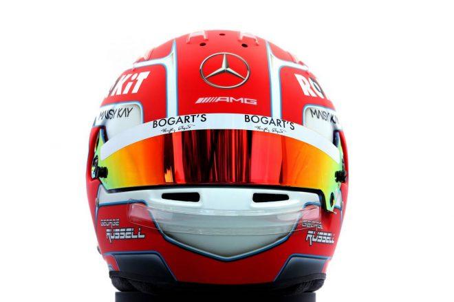 F1 | ジョージ・ラッセル(George Russell) 2020年のヘルメット1