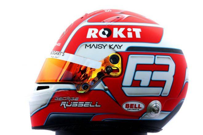 F1 | ジョージ・ラッセル(George Russell) 2020年のヘルメット2