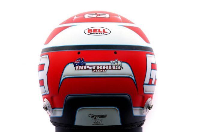 F1 | ジョージ・ラッセル(George Russell) 2020年のヘルメット3