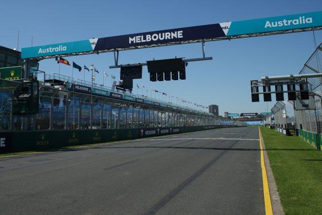 2020年F1第1戦オーストラリアGP水曜のアルバートパーク・サーキット