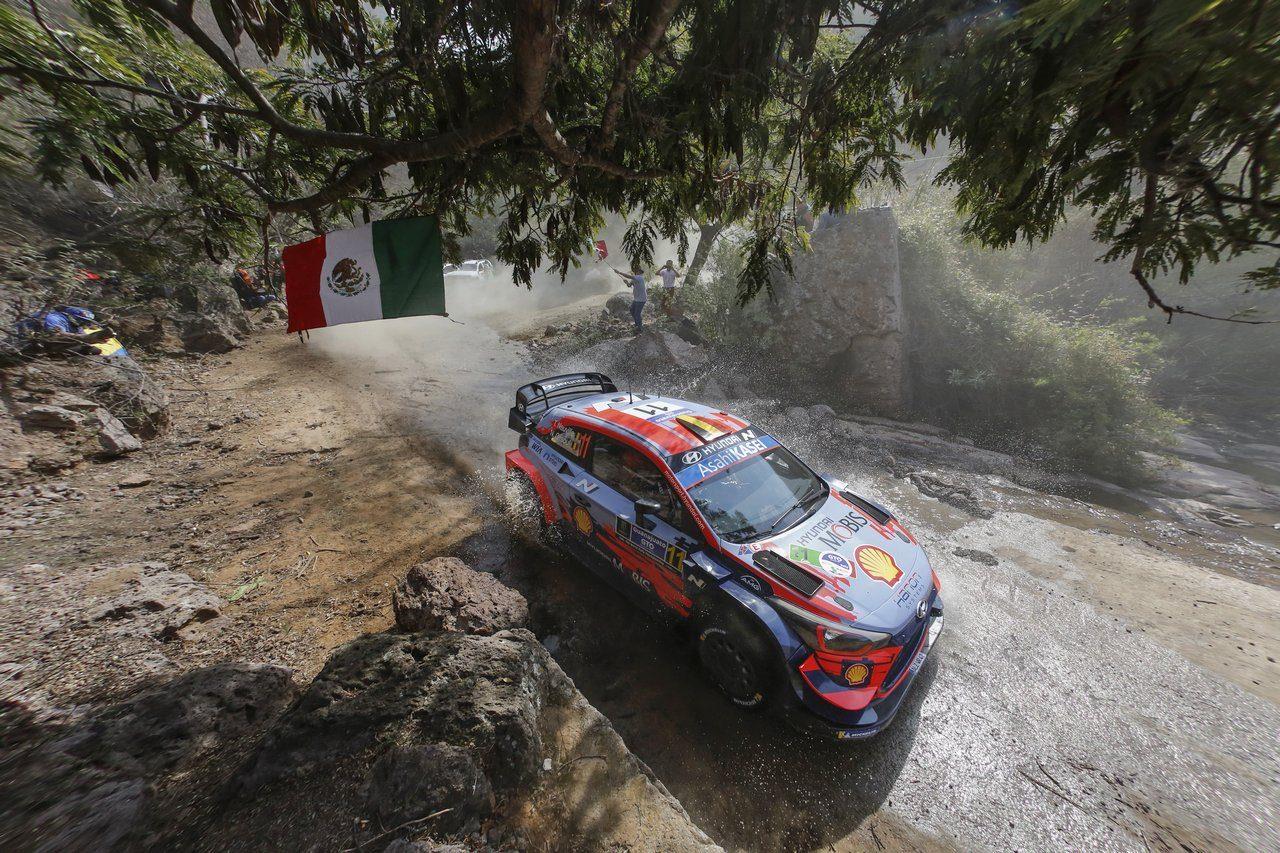 WRCメキシコ:連勝狙うトヨタのエバンスが2番手発進。初日首位はヌービル