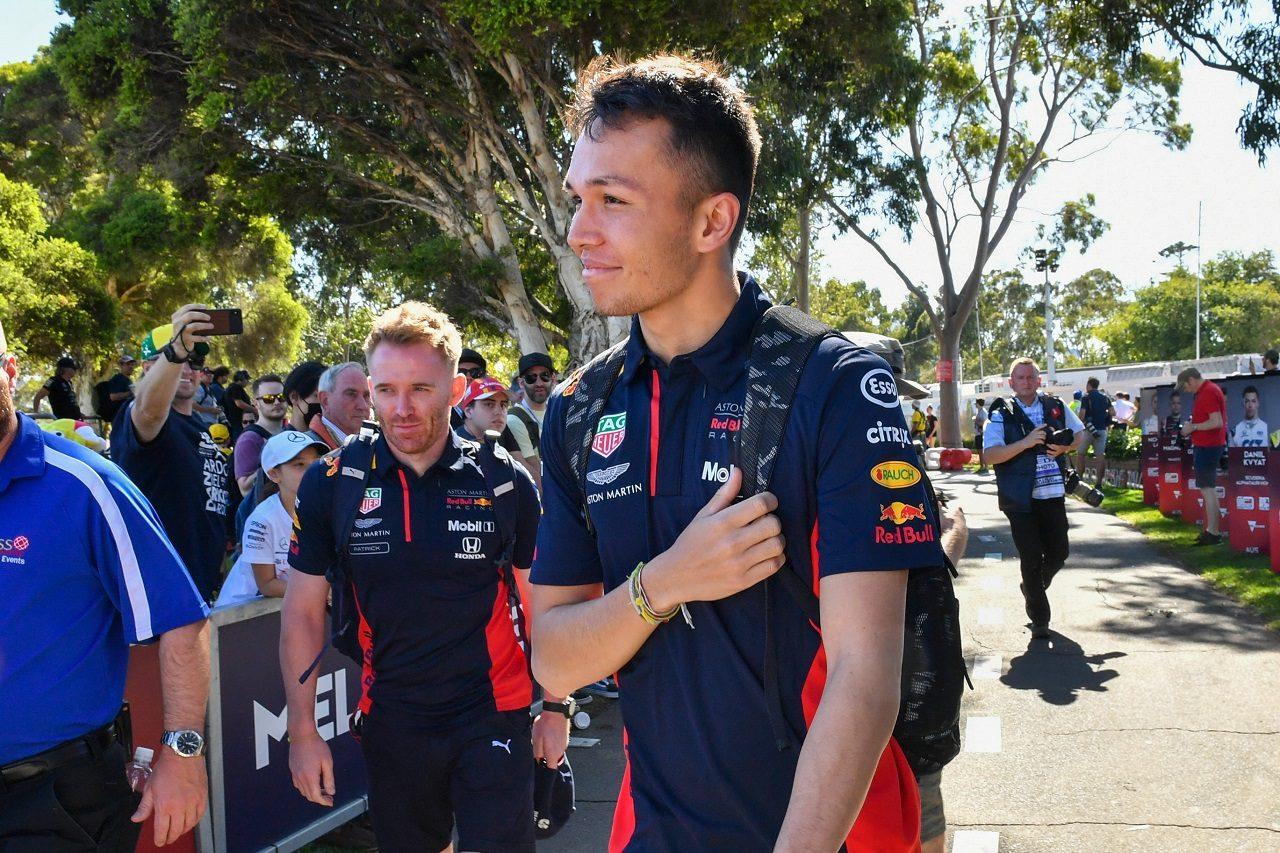 2020年F1オーストラリアGP アレクサンダー・アルボン(アルファタウリ・ホンダ)