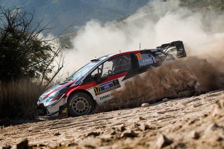 ラリー/WRC | WRC第3戦メキシコ:競技2日目、トヨタのオジエがトップに。フォードのラッピがマシン全焼