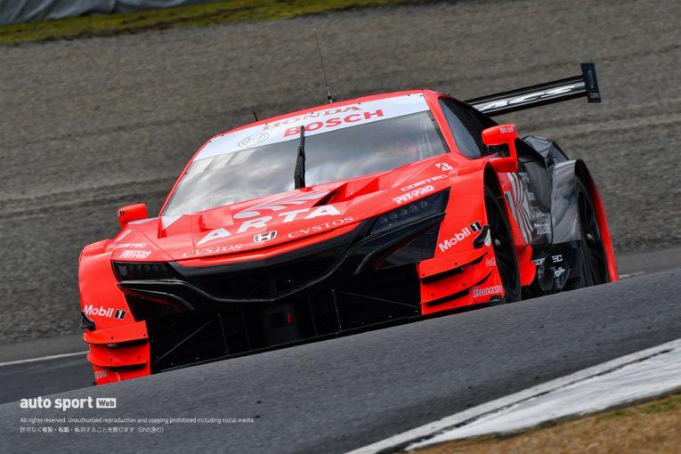 スーパーGT   無観客開催のスーパーGT岡山公式テストがスタート。まずはARTA NSX-GTがトップタイム