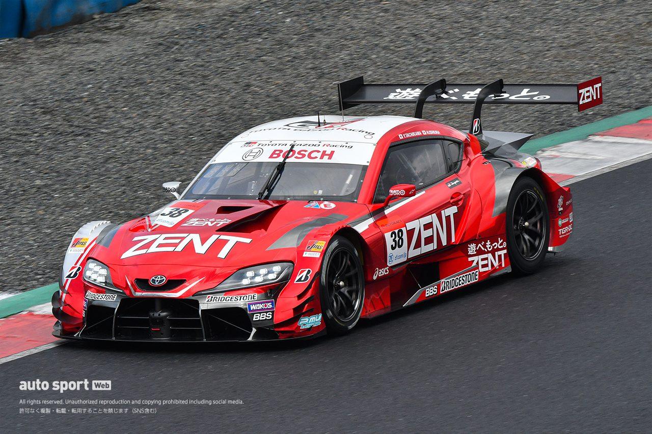 2020スーパーGT岡山公式テスト 走行全車総覧【GT500クラス】