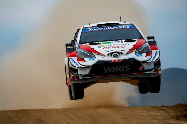 ラリー/WRC   WRC第3戦メキシコ:トヨタ、競技2日目はトラブルなく全車トップ5入り「全員が本当にいい仕事」