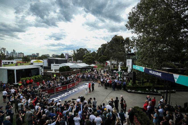 2020年F1第1戦オーストラリアGP金曜 F1および主催者が中止に関する記者会見を行う