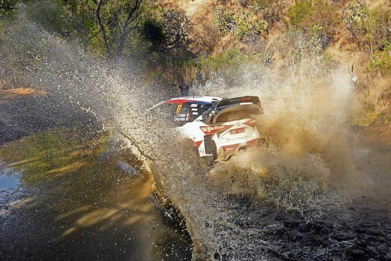 ラリー/WRC   【順位結果】2020WRC第3戦メキシコ 暫定総合