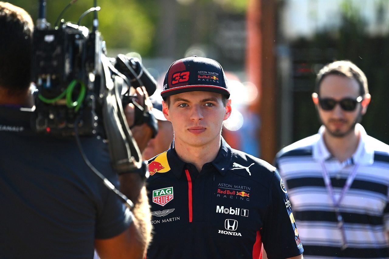 2020年F1オーストラリアGP マックス・フェルスタッペン(レッドブル・ホンダ)