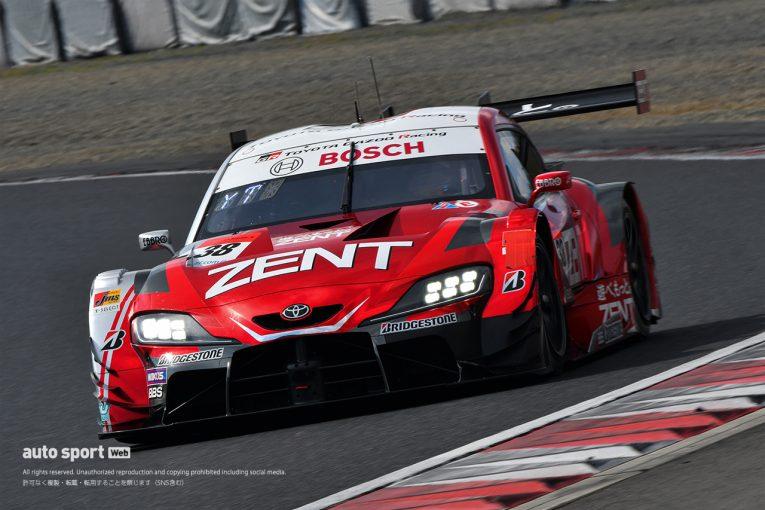 スーパーGT | スーパーGT岡山公式テスト:2日目午後は赤旗なく終了。ZENT GR Supraがトップタイム