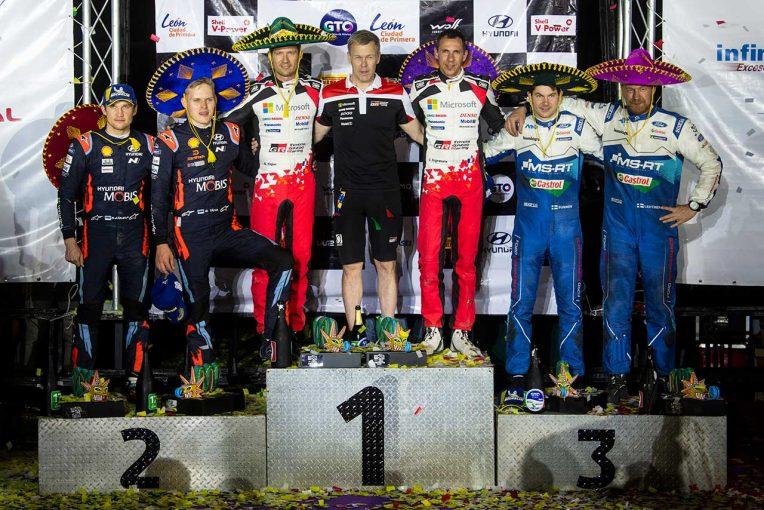 ラリー/WRC | WRC:トヨタ、苦戦続いたメキシコを制す。豊田章男社長「毎年苦しい思いをしてきたメキシコでついに優勝」