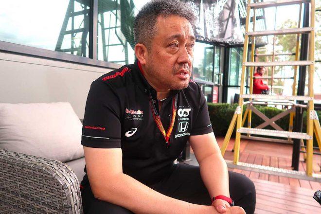 ホンダF1の山本雅史マネージングディレクター