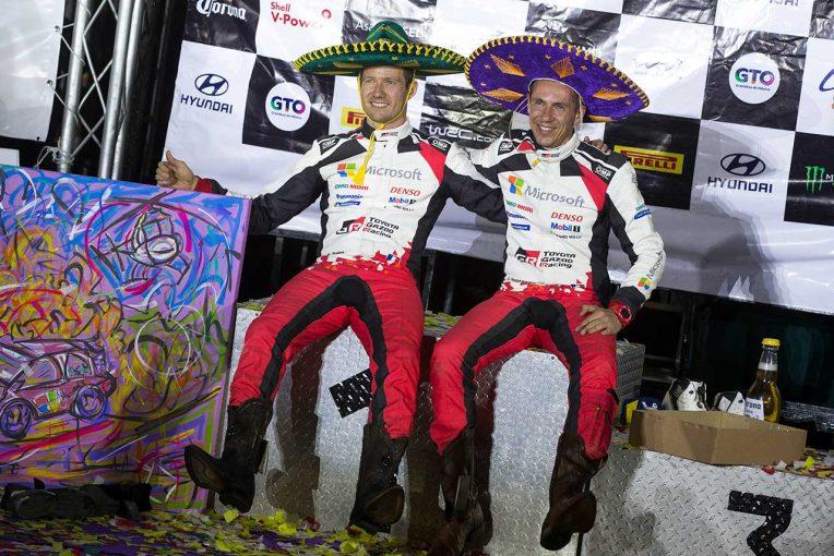 ラリー/WRC | 【ポイントランキング】2020WRC第3戦メキシコ終了時点