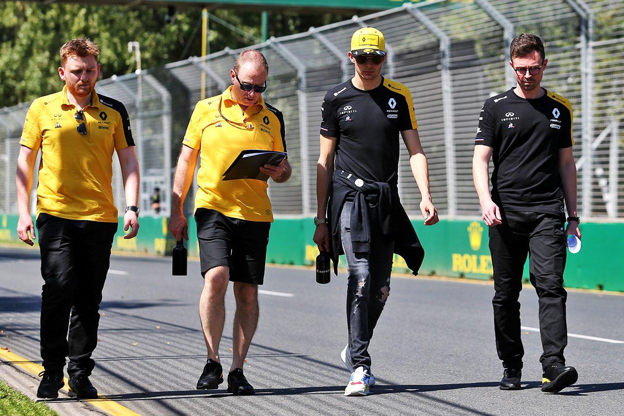 2020F1開幕戦オーストラリアGP エステバン・オコン(ルノー)