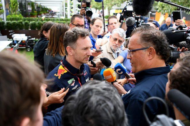 2020年F1オーストラリアGP レッドブル代表クリスチャン・ホーナー
