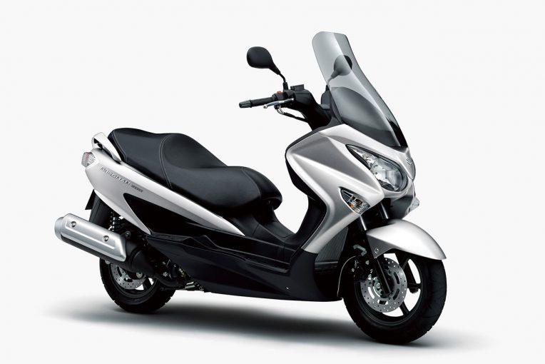 MotoGP   スズキ、『バーグマン200』のカラーリングを変更し3月26日より発売