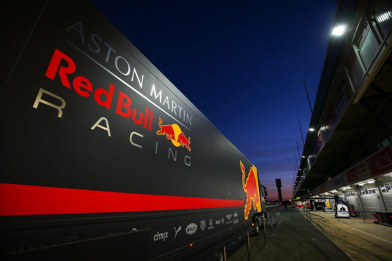 2020年F1プレシーズンテスト レッドブル・レーシングのトラック