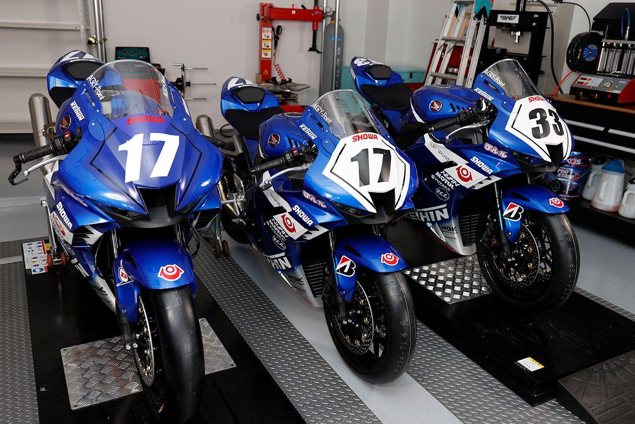 Keihin Honda Dream SI RacingがホンダCBR1000RR-Rのニューカラーをお披露目/全日本ロード