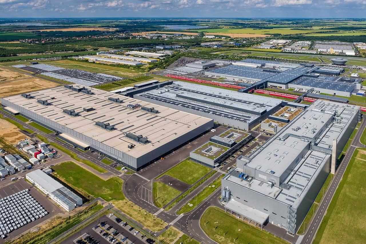 ドイツ・ライプツィヒの生産拠点