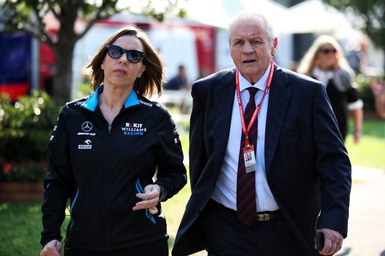 F1 | 「ウイリアムズの不振を副代表クレアのせいにするのは不公平」と元F1王者アラン・ジョーンズ