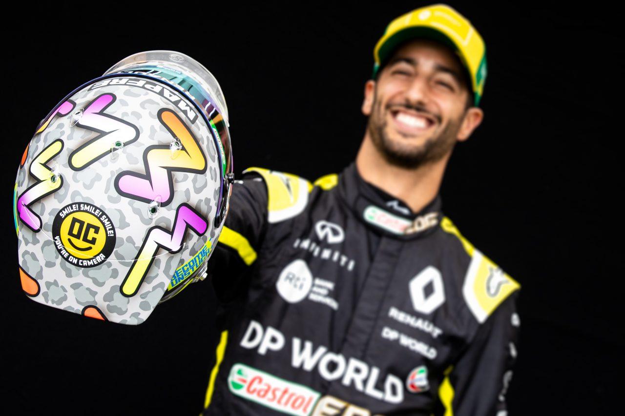 2020年F1オーストラリアGPでのリカルド