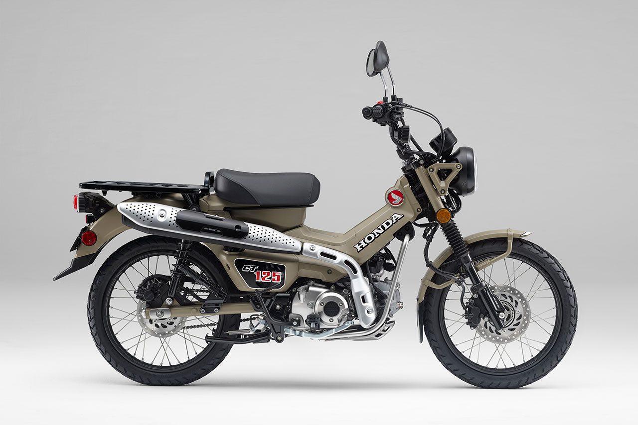 ホンダ、新型の原付二種レジャーモデル『CT125・ハンターカブ』を6月下旬に発売