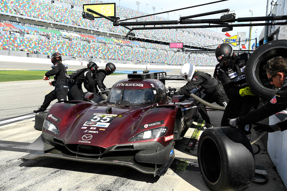 IMSA:マツダ、ヨースト・レーシングと袂を分かつ。後任は技術パートナーのマルチマチックが担当