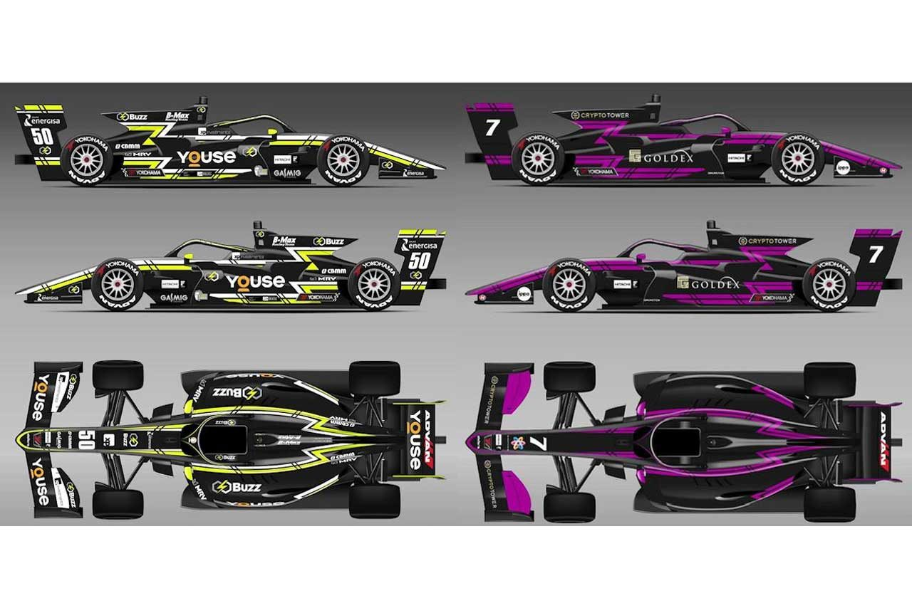 Buzz Racing Team with B-Maxの2020年カラーリング