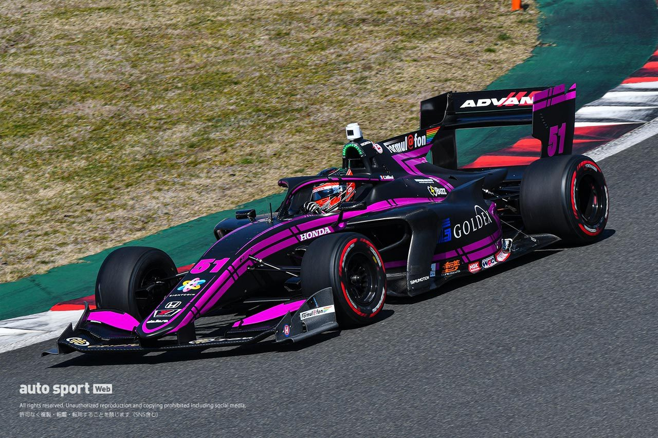 2020 全日本スーパーフォーミュラ選手権 富士公式合同テスト 走行全車総覧
