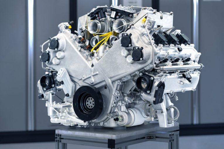 クルマ | アストンマーティン、自社設計のV6ターボエンジン『TM01』を初公開。ヴァルハラから採用へ