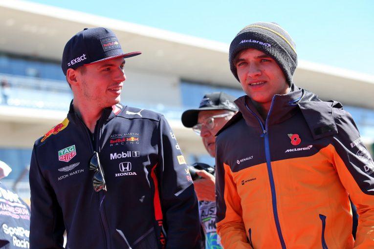 F1 | フェルスタッペン、バーチャルレースでノリスと大バトルの末に接触「ものすごい接戦で楽しかった!」