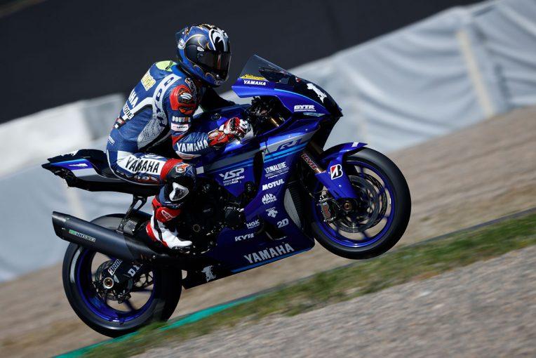 MotoGP | マシントラブル発生もヤマハファクトリーが速さを見せつける/全日本ロード鈴鹿テスト2日目