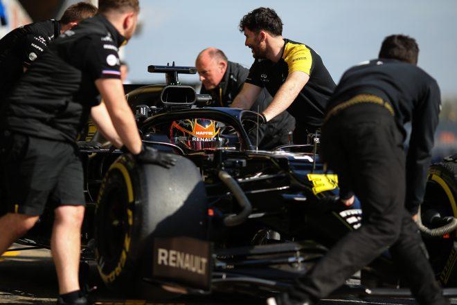 2020年F1バルセロナテストでのルノー