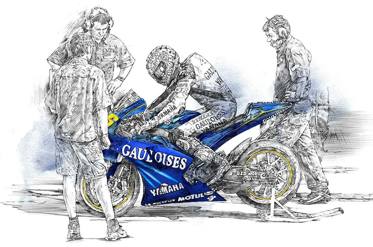 ヤマハOBキタさんの「知らなくてもいい話」/MotoGP編