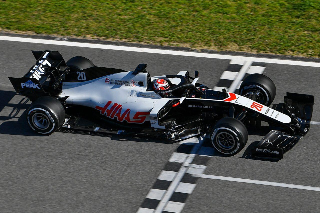 2020年F1第2回バルセロナテスト2日目 ケビン・マグヌッセン(ハース)